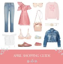 shopping guide april shopping guide u2014 in my blonde life