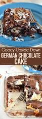 gooey upside down german chocolate cake is an easy delicious twist