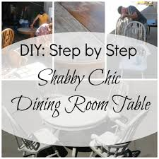 Shabby Chic Dining Room Sets Home Design Ideas - Shabby chic dining room furniture
