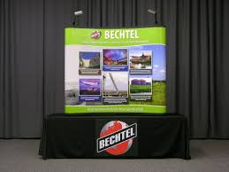 table top banners for trade shows all display signage by category atlanta printing company