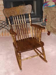 Designer Wooden Rocking Chairs Rocking Chairs Vintage Wood Wood Rocking Chair Vintage Chairs