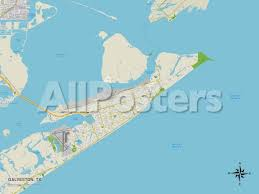map of galveston political map of galveston tx posters at allposters com