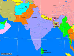 Asia Maps Download Political Map Of South Asia Major Tourist Attractions Maps