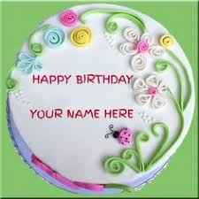 write name on birthday cake with wish picture alex pinterest