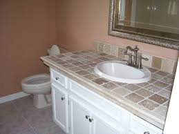 Bathroom Countertops Ideas Tremendeous 27 Best Tile Countertops Images On Pinterest Tile