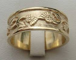 scottish wedding rings scottish thistle wedding ring love2have in the uk