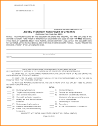 Power Of Attorney General by 10 California Power Of Attorney Forms Action Plan Template