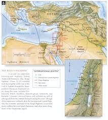 Negev Desert Map Bible Maps
