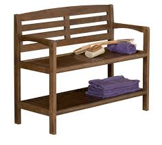 Wooden Benches With Storage Abingdon Solid Birch Wood Large Bench With Back New Ridge Home Goods