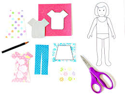 how to make paper dolls with downloadable patterns how tos diy