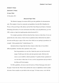 essay style sample paper format papers example with title page
