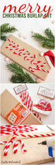 diy christmas art merry u0026 burlap crafts unleashed diy