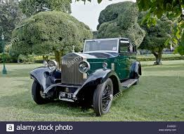 rolls royce classic vintage rolls royce silver ghost british classic car stock photo