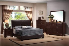 Furniture Of America Bedroom Sets Conner Bedroom Set In Brown Walnut 300261