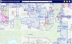 University Of Arizona Map by Dc Zoning Maps