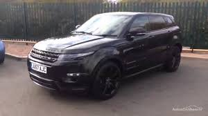 land rover range rover 2016 black land rover range rover evoque sd4 dynamic black 2013 youtube