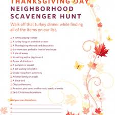 scavenger hunt with clues