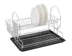 Dishes Rack Drainer Stainless Steel Dish Rack 2 In 1 50cm Singapore Best Prices