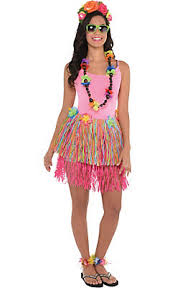 Hawaiian Halloween Costume Hula Skirts Grass Skirts Party