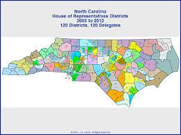 carolina state house of representatives districts map 2003