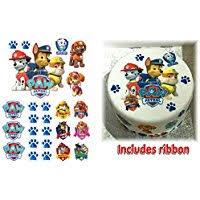 amazon uk paw patrol cake decorations decorations toys