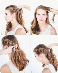 Hochsteckfrisurenen Mittellange Haar Selber Machen by Hochsteckfrisurenen Selber Machen Anleitung Mittellange Haar
