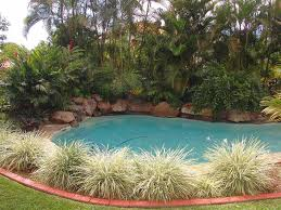 Pool Garden Ideas Image Detail For Quiet End Of Culdesac Position U2013 Rock Waterfall