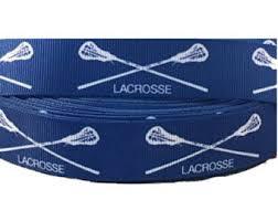 grosgrain ribbon by the yard lacrosse ribbon etsy