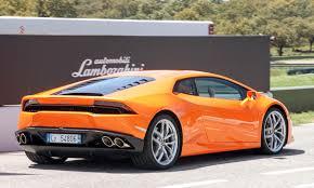 bright orange cars 2015 lamborghini huracan review autonxt
