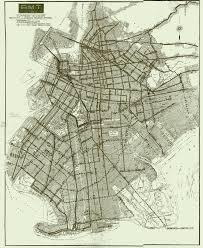 Brooklyn Zip Code Map by 1930s Brooklyn U0026 Queens Trolley Map Transit Maps Pinterest