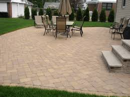 Herringbone Brick Patio D Ferraioli Landscape Design And Maintenance Inc Stone