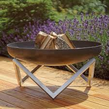 Steel Fire Pit - stainless steel fire pits you u0027ll love wayfair