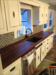 kitchen walnut cabinets shaker wood countertops walnut kitchen