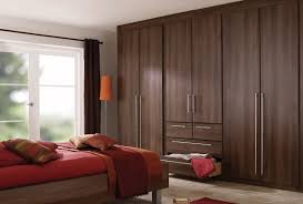 Luxury Fitted Bedroom Furniture Dark Brown Bedroom Furniture With Red Accessories Brownie