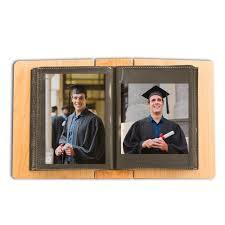 graduation photo album school graduation personalized 4x6 wood photo album