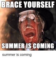 Summer Is Coming Meme - brace yourself summer is coming made on imgur summer meme on