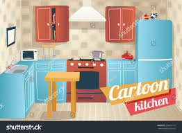 kitchen furniture accessories kitchen furniture accessories interior apartment stock