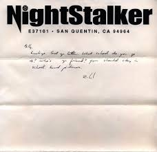 want a serial killer for a pen pal check out these letters sent