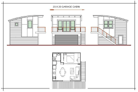 small cabin with loft floor plans custom