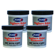 zorbx surface odor remover paint additive 4 pack 2350 4 the