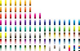 sample pantone color chart free download