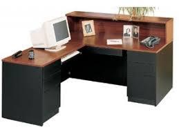 Reception Desks Milan L Shaped Reception Desk Left Mln 6672lr Reception Desks