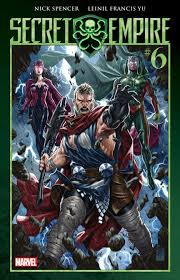 thor stands strong cover to secret empire 6 thor comic vine