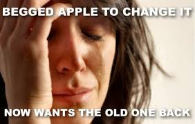 Ios Meme - ios 7 reminds us to be careful what we wish for cult of mac
