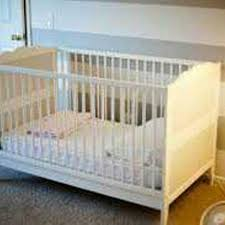 Cribs With Mattress Find More 100 Each Crib And Mattress 2 Ikea Hensvik Convertible