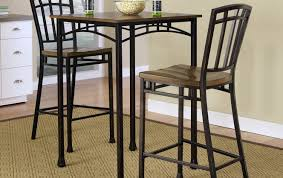 Indoor Bistro Table And Chairs Bar Round Bar Table 3 Piece Pub Table Set Small Bistro Table