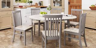 Stunning Large Round Extended Kitchen Dining Table And Chairsoval - Large round kitchen table