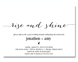 post wedding brunch invitation wording post wedding brunch invitations also large size of day brunch