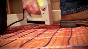can you put radiant heat under laminate flooring installing radiant heat in flooring flooring how to videos and