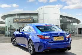 lexus rc coupe 200t 2 0 f sport 2dr auto used lexus rc f sport t blue fd16ofz